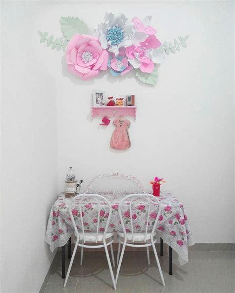 cara membuat bunga kertas untuk hiasan dinding ide dan cara membuat hiasan dinding berbentuk bunga dari