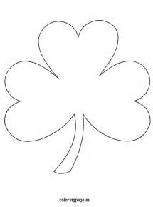 shamrock coloring pages shamrock coloring page free from coloringpage eu lots of