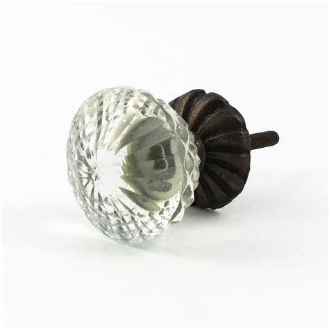 decorative glass knobs vintage clear glass decorative knob decorative cabinet