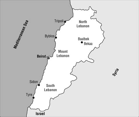lebanon map coloring page lebanon map free coloring pages