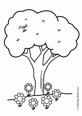 nature themed coloring pages nature coloring pages for kids printable free