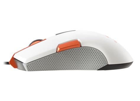 250m White Optical Gaming Mouse Ambidextrous Gaming Design gaming mouse 250m