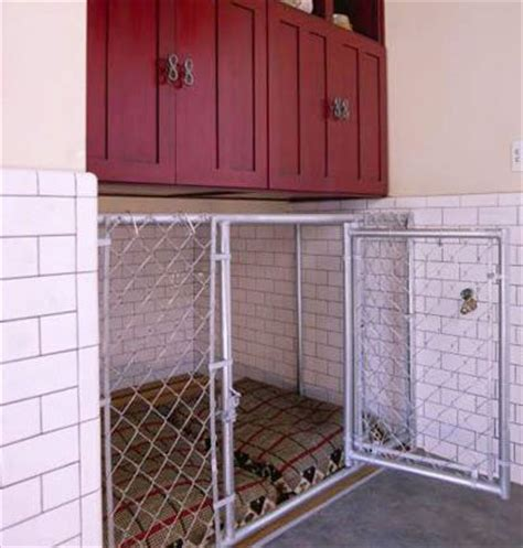dog kennel in garage maybe in garage stylish dog kennel a built in chain link