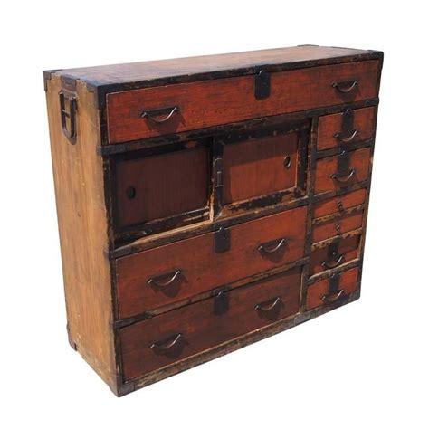 japanese chest antique antique japanese meiji period tansu mizuya dōko for sale