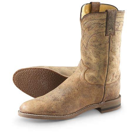 roper shoes womens justin s road roper cowboy boots 640709 cowboy