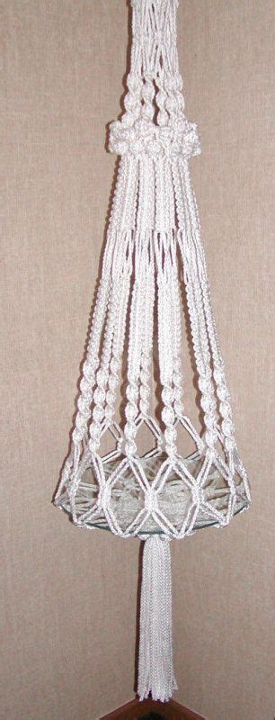 Free Patterns For Macrame Plant Hangers - the 25 best macrame plant hanger patterns ideas on
