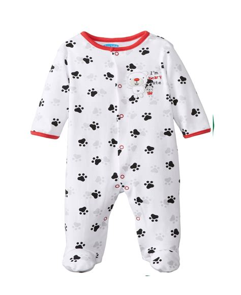 Pajamas Baby footed infant pajamas family clothes