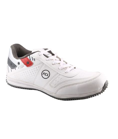 tiger sport shoes macoro fcl tiger series sports shoes white price in india