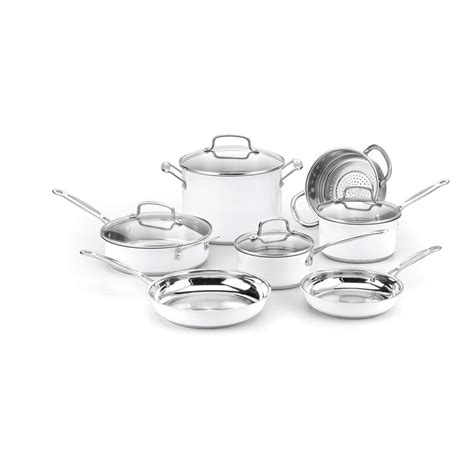 Oxone Classic Cookware Set cuisinart chef s classic 10 cookware set in