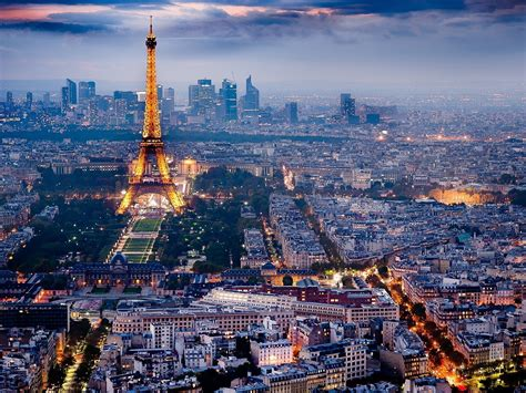 paris city of light eiffel tower paris city lights skyline wallpaper allwallpaper in 3209 pc en
