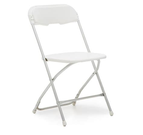 white fold up chairs for rent white samsonite folding chair for rent