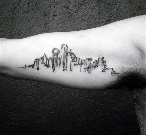 inner city tattoo 20 dallas skyline designs for ink ideas