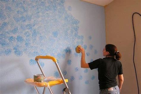 Wall Murals Stencils sponge painting tips