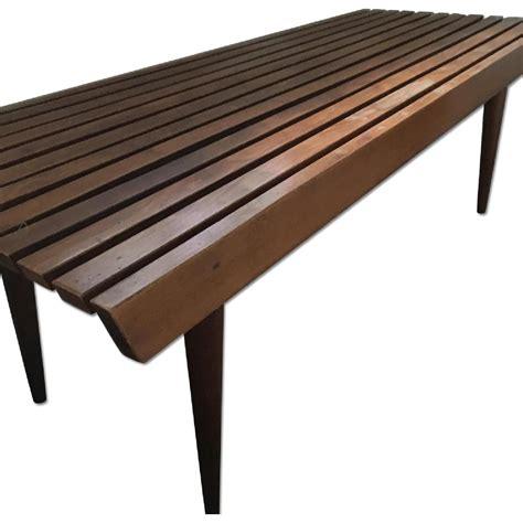 slat coffee table table furniture outdoor decor