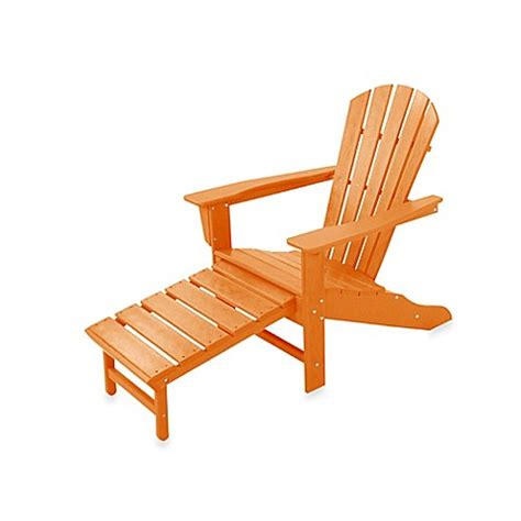 adirondack chair ottoman buy polywood 174 south beach ultimate adirondack chair with