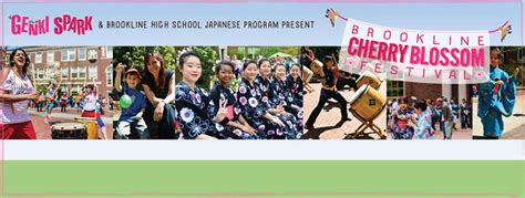 Brookline High School Calendar Brookline Cherry Blossom Festival At Bhs Artsbrookline