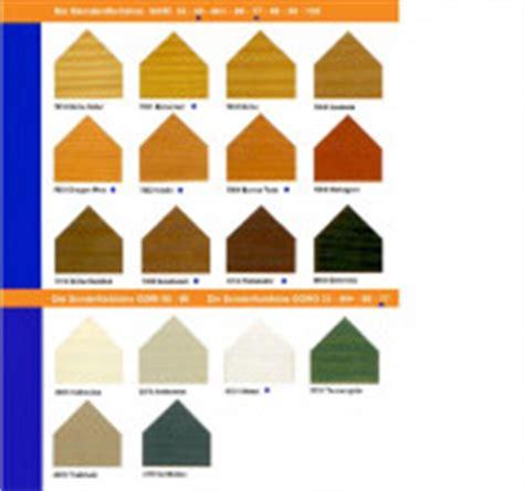 Holzlasur Polieren by Gori Holzlasuren Farbtonkarten Bei Lackundfarbe24 De