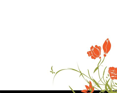 Powerpoint Presentation Background Designs Flowers Flowers Powerpoint Template