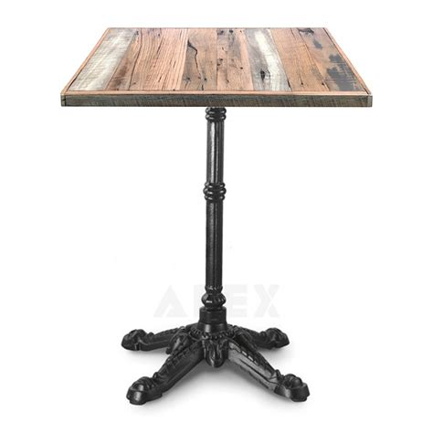 Industrial Bistro Table Abella Rustic Industrial Bistro Table Apex