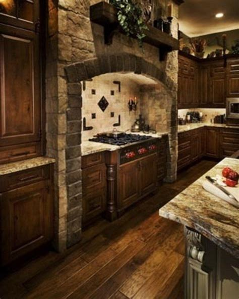 Kitchen Island Hanging Pot Racks by Easy Ways To Achieve The Rustic Kitchen Look Decor