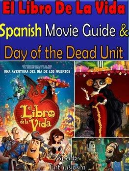 libro life in the uk el libro de la vida the book of life movie packet in spanish tpt