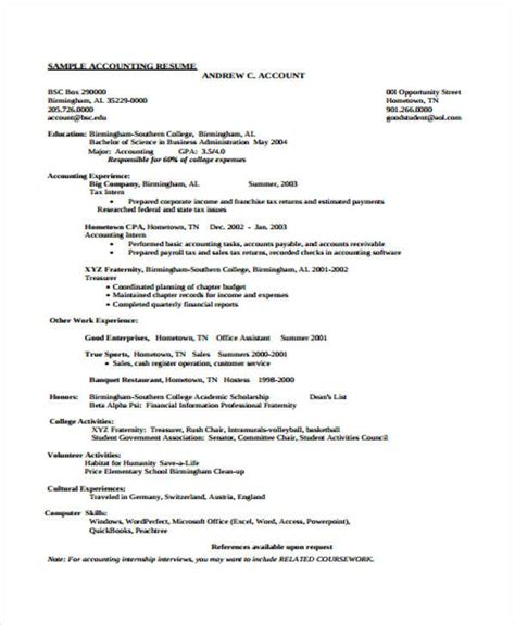 staff accountant resume sles 31 free accountant resumes