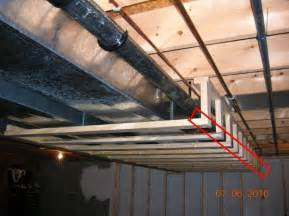 best way to build a house basement soffits and how to build them basement finish