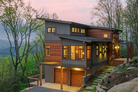 contemporary mountain home plans modern mountain home for the home pinterest