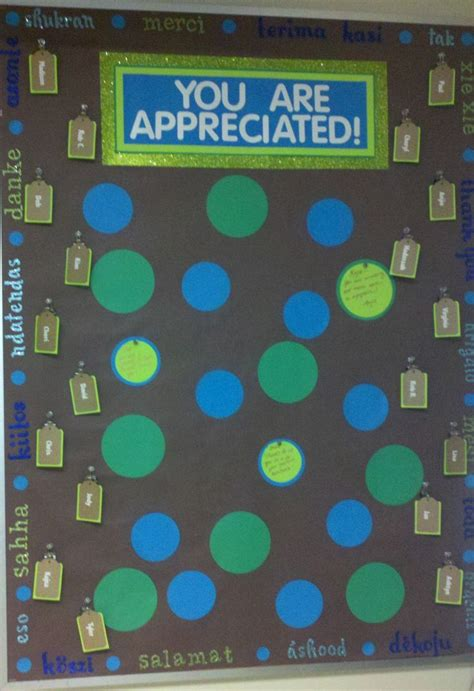 employee appreciation board   edges
