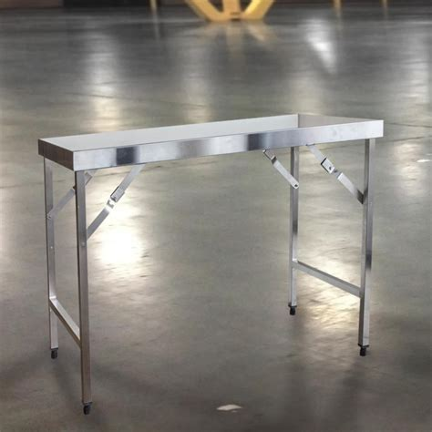24 x 48 folding table home depot ecostorage 48 in nsf stainless steel table tls