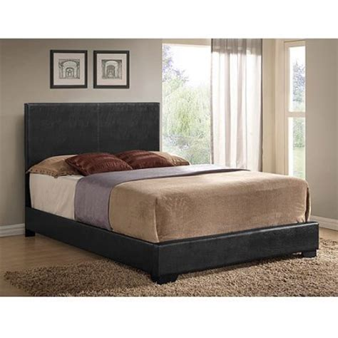 Cheap Mattresses Ireland by Ireland Faux Leather Bed Black Walmart