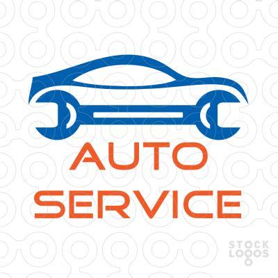 logo services auto sold logo auto service stocklogos