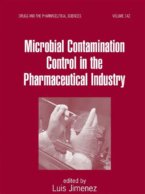 For The Pharmaceutical Industry Students Book Original 55772220 microbial contamination in the pharmaceutical industry