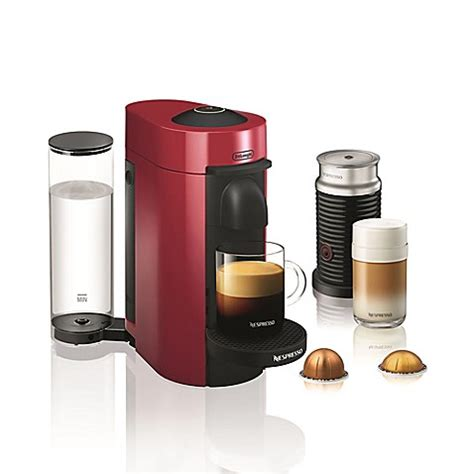 bed bath and beyond nespresso nespresso 174 by de longhi vertuoplus coffee and espresso