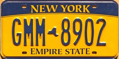 Ny Vanity Plates by New York 3 Y2k