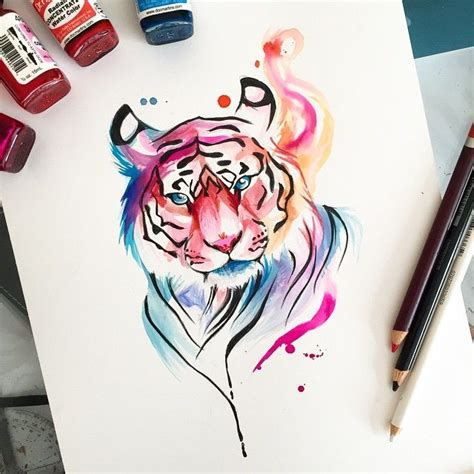 how to draw a doodle tiger 25 best ideas about tiger drawing on tiger
