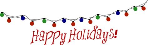 happy holidays banner clip art clipart free download