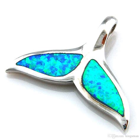 Blue Opal 01 2017 blue opal jewelry with cz fashion opal pendant