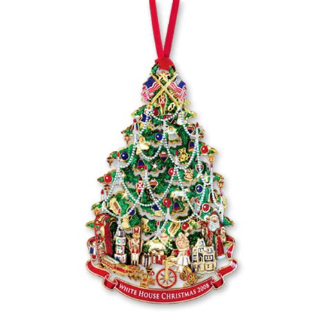 2008 White House Christmas Ornament A Victorian Christmas Tree The White House