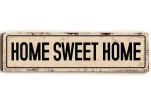home sign home sweet home wood sign signs from one
