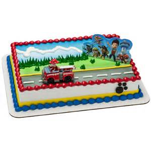 paw patrol cake topper 2 pieces birthdayexpress com