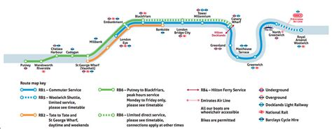 thames river bus map london river bus information