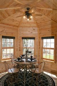 octagon log homes golden eagle log and timber homes design ideas dining areas