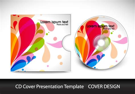 How To Make A Cd Cover Out Of Paper - cd cover design template free