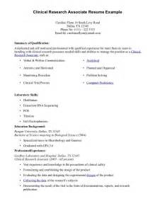 Biotech Resume Make A Cra Resume Sample Esample Resume Com