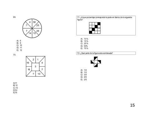 preguntas de habilidad matematica comipems examen tipo 15 comipems