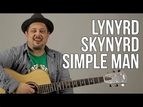 strumming pattern simple man shinedown simple man lynyrd skynyrd guitar lesson how to play