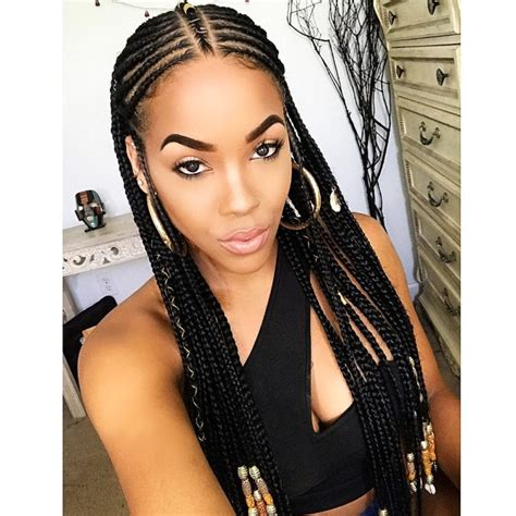 1 braid extensions styles best trends for black women