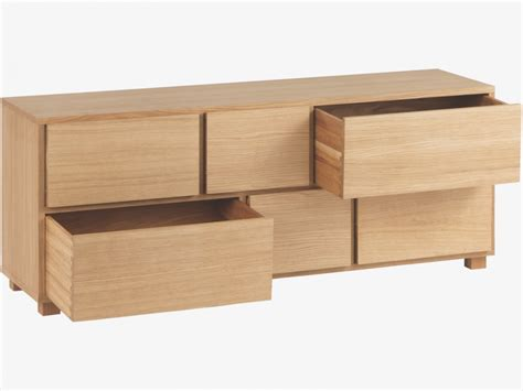 Low Dresser With Drawers by Hana Ii 6 Drawers Low Chest Qualita