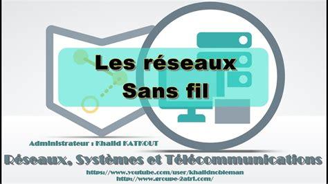 Les Sans Fil les r 233 seaux sans fil khalid katkout